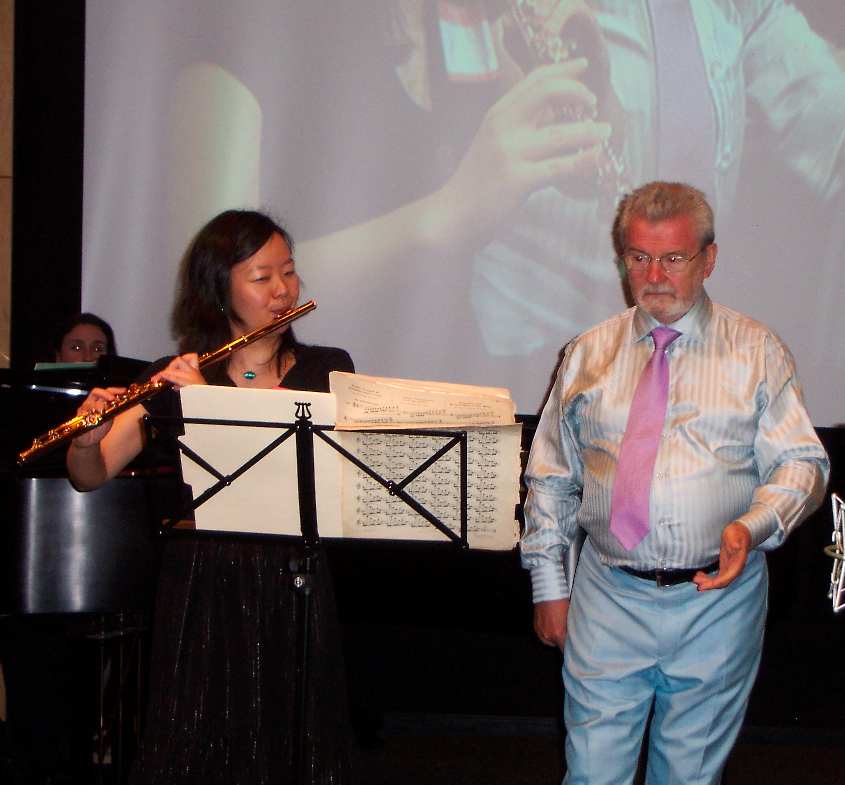 JHSEsq attended the Master Class in Napa with Sir James Galway